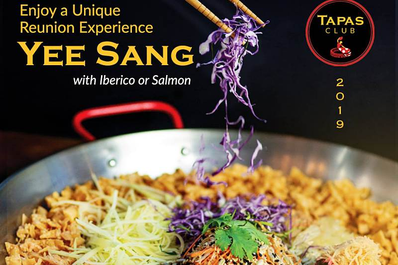 Click here to view Tapas Club Pavilion's Yee Sang