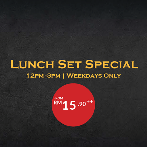 Click here to view Tapas Pavilion Club's Lunch Set Special