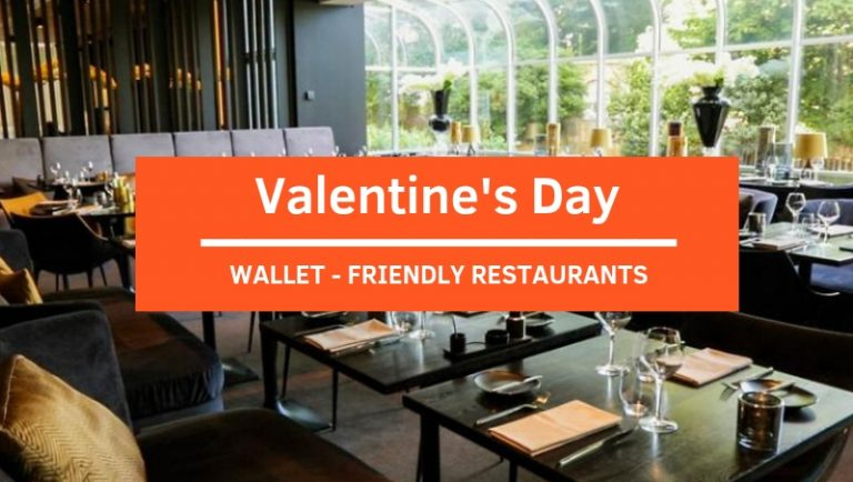 Click here to view wallet-friendly restaurants for Valentine's Day 2019