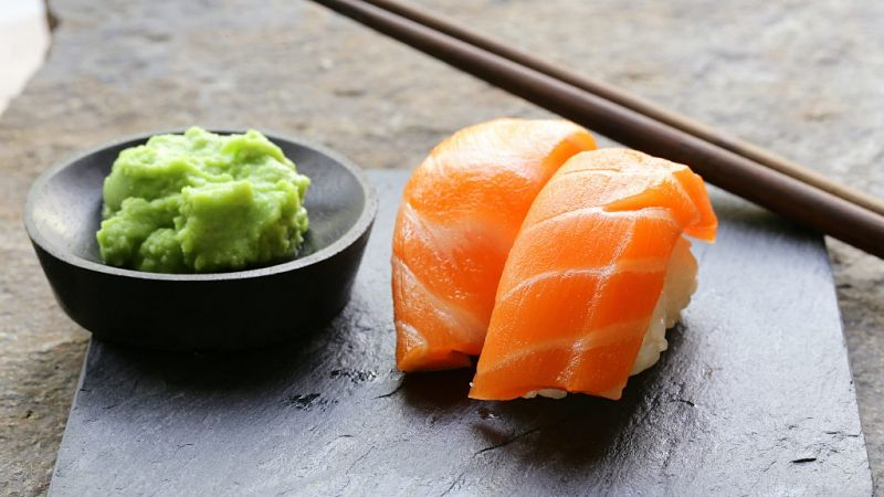 Click here to view wasabi to eat sushi