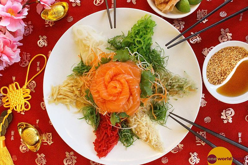 Click here to view Yee Sang menu at Zuan Yuan