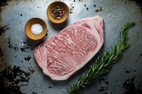 Click to view a Marbling Piece of Wagyu Meat