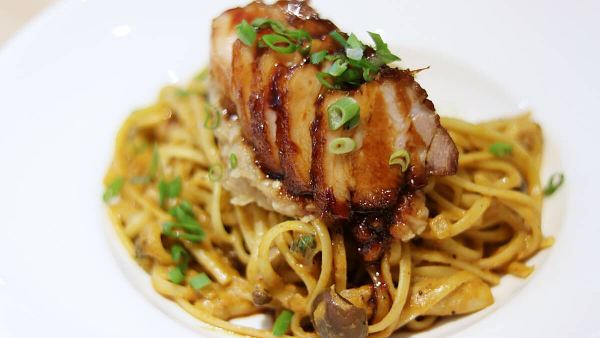 Click here to view Curry Char Siu Pasta at ANTE