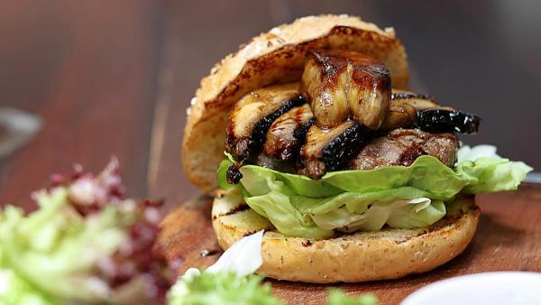 Click here to view Foie Gras Burger