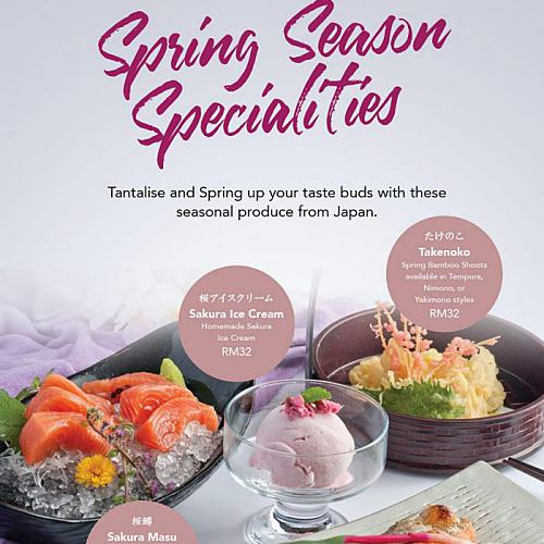Click here to view Spring Season Promo at Kampachi