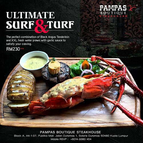 Click here to view New Dish at PAMPAS Publika