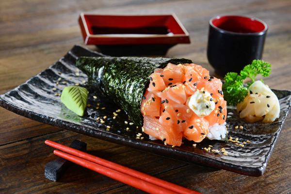 Click here to view Temaki Sushi Rolls