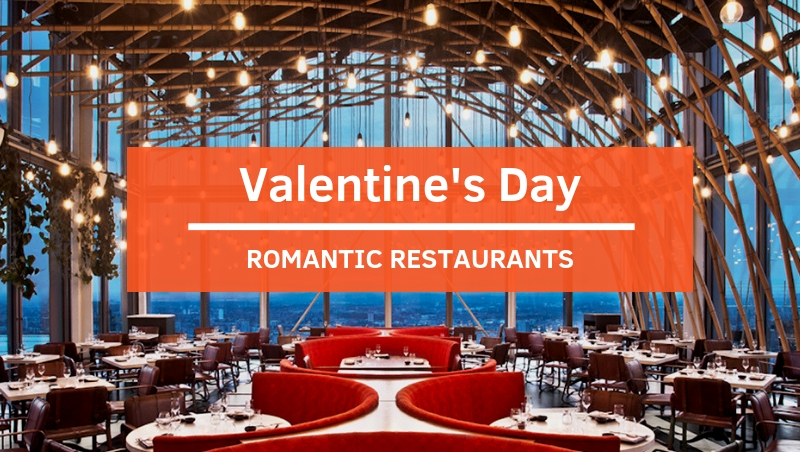 View Romantic Restaurants for Valentine's Day 2019