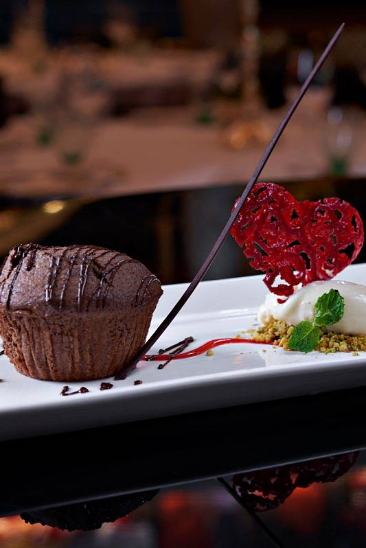 Click here to view Valentine's Menu at Villa Danieli