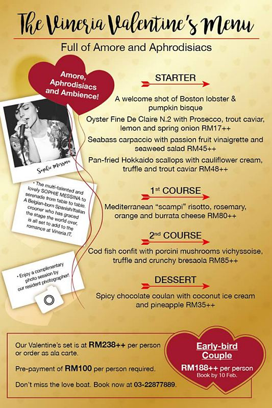 Click here to view Valentine's Menu