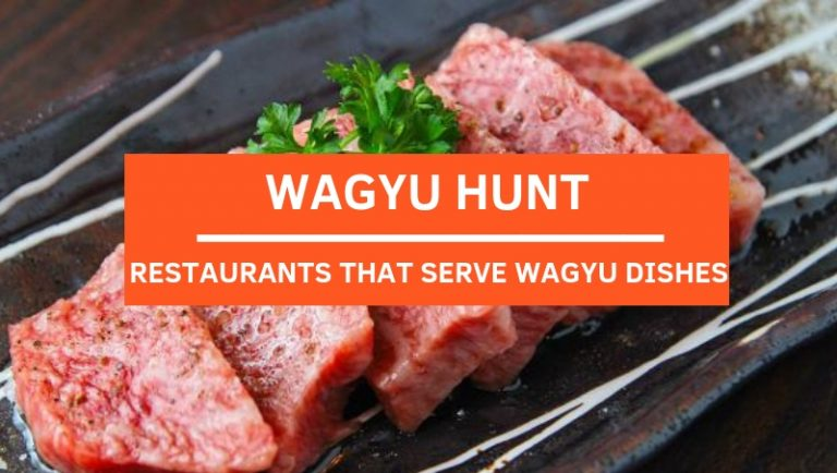 Click here to view all Restaurants that serve Wagyu Dishes in Kuala Lumpur and Klang Valley