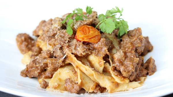 Click here to view Homemade Pappardelle at Zenzero Restaurant and Wine Bar