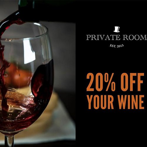 Click here to view Wine Discount at Private Room