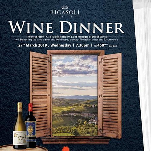 Click here to view Wine Dinner at Tangerine