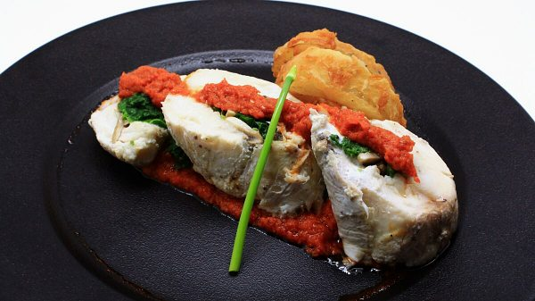 Click here to view Poached Butter Fish Medallions at Pier 12 Seafood Tavern