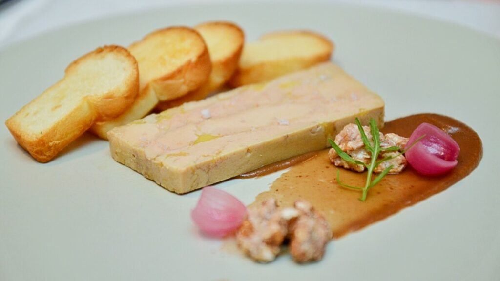 View Free Cognac Foie Gras Terrine at Two Ox French Bistro Bar