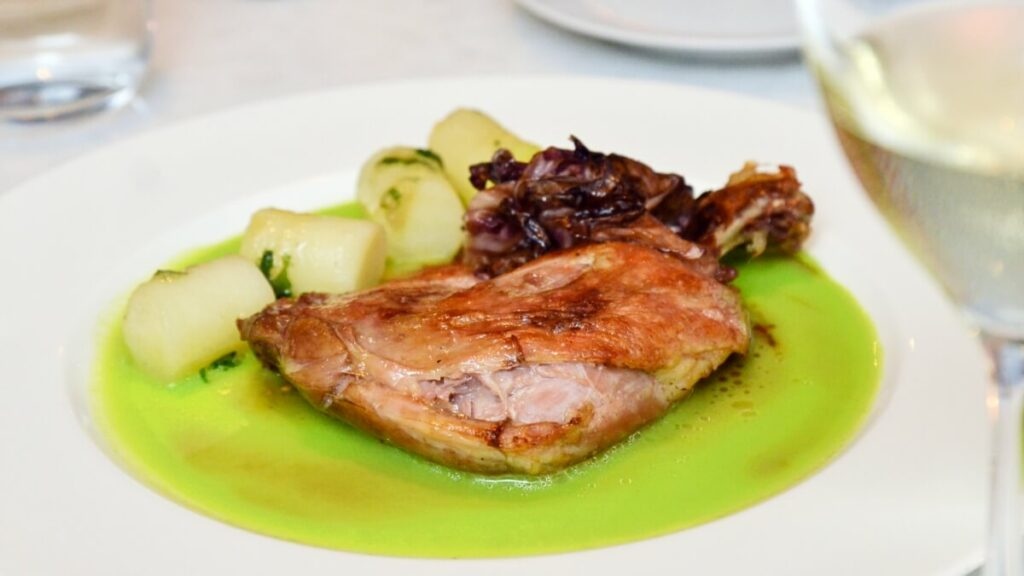 View Free Duck Confit at Two-Ox French Bistro Bar
