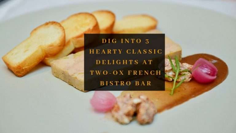 Click here to view free signature dishes at Two-Ox French Bistro Bar