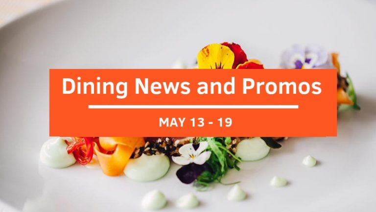 View All Dining News and Promos This Week