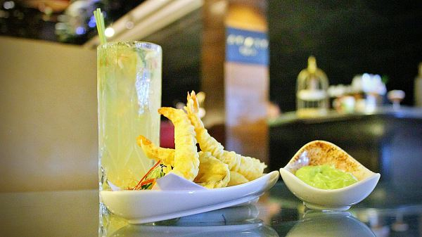 View This Prawn Tempura and Malaysian Mule