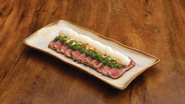 Click here to view Kampachi Pavilion's Free Signature Dish Wagyu Tataki