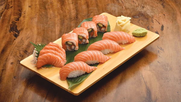 Click here to view Free Salmon Trio at Kampachi Pavilion