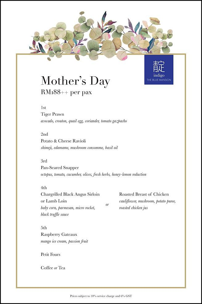 Click here to view Mother's Day at Indigo