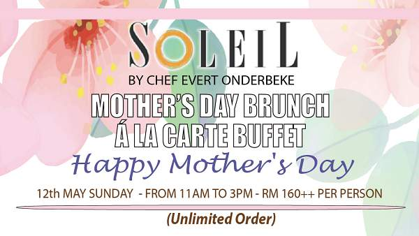Click here to view Mother's Day Menu at Soleil