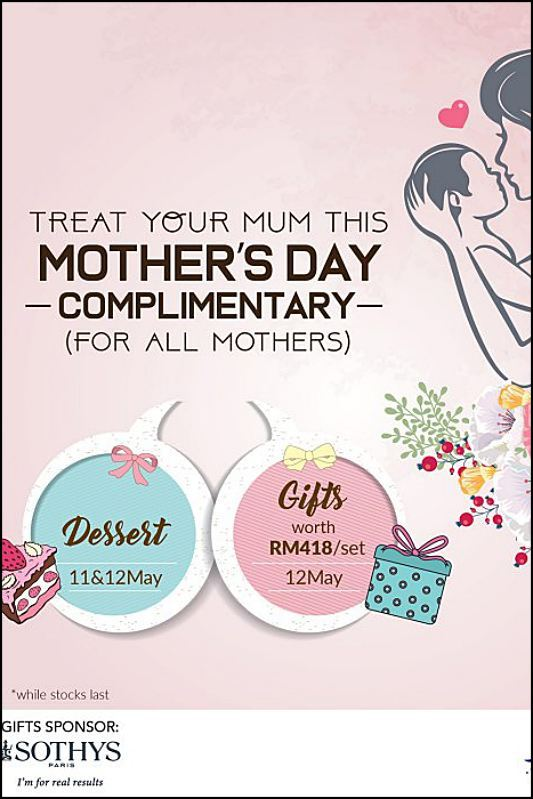 View Mother's Day Menu at The Rum Bar KL