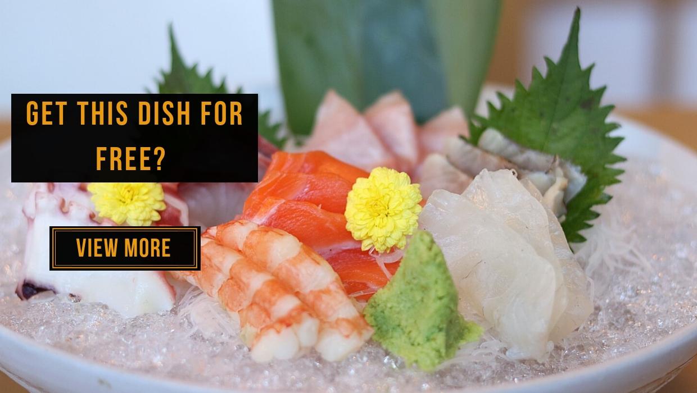 View Free Signature Dish at Yamaguchi Fish Market