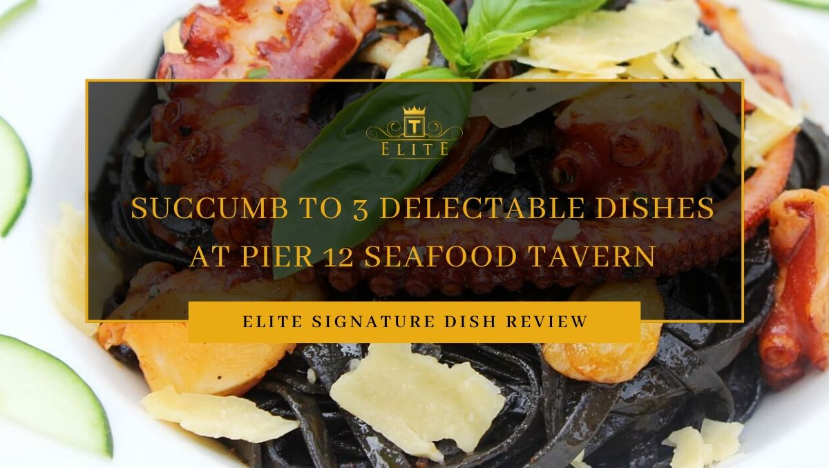 View 3 Delectable Delights at Pier 12 Seafood Tavern