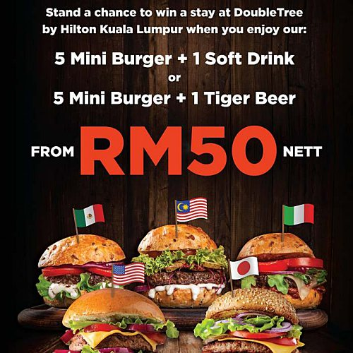 View Burger Promo at Cellar Door