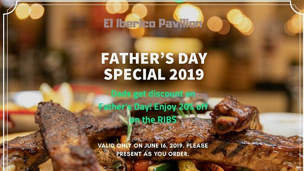 View El Iberico's Father's Day Special