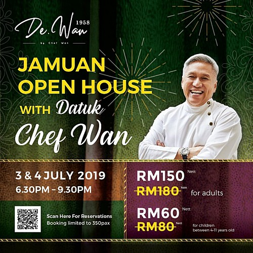 View Jamuan Open House Chef Wan