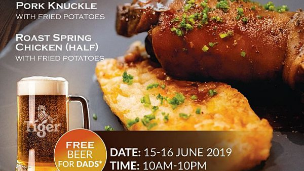 View Father's Day Promos at Tapas Club Pavilion