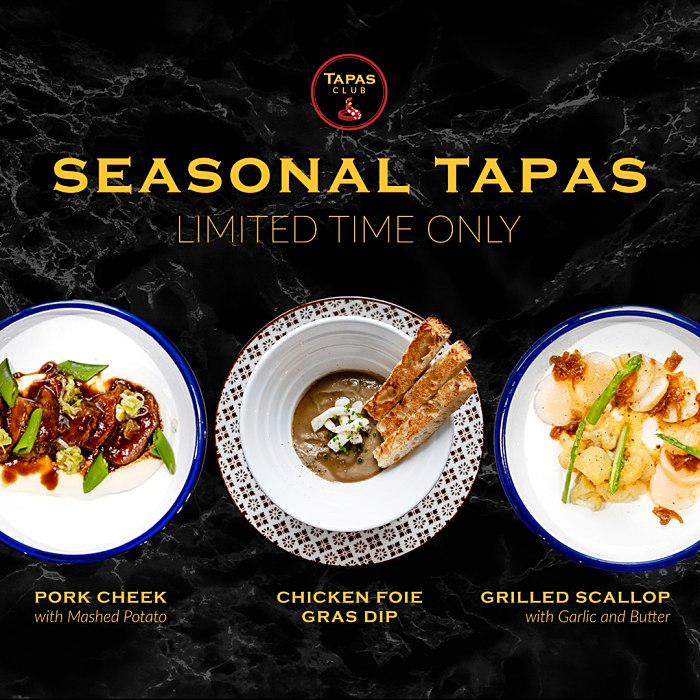 View Tapas Promotion at Tapas Club Pavilion