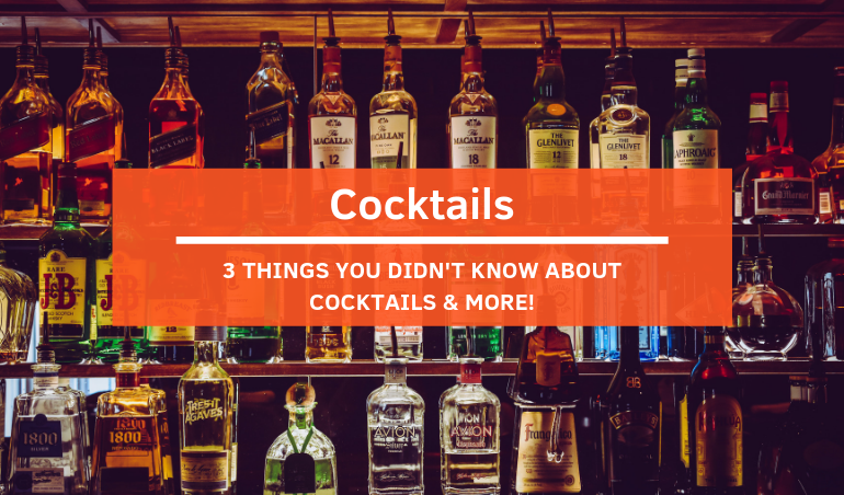 Click to view TABLEAPP Weekly Read - 3 Things You Didn't Know About Cocktails & More