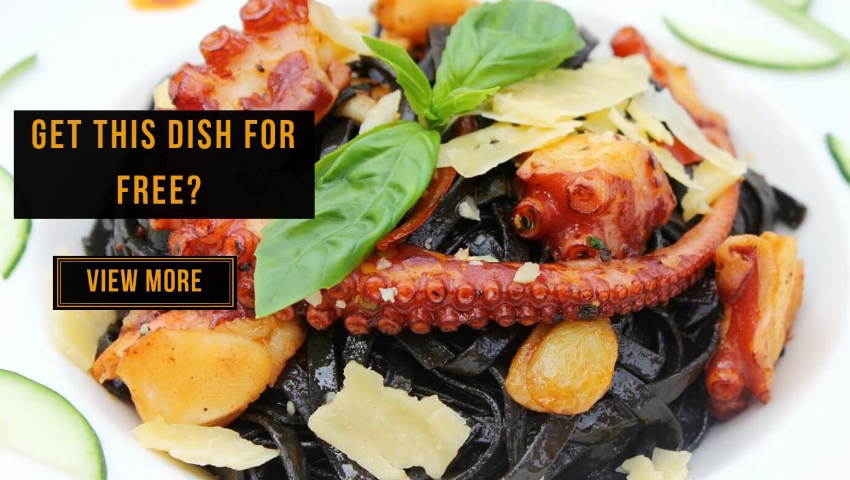 View Free Squid Ink Linguine Con Polpo