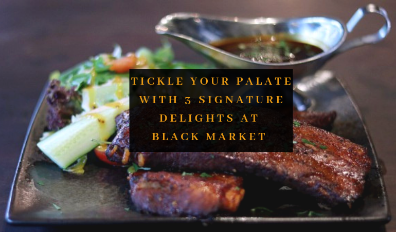 View Free Signature Dishes at BLACK Market
