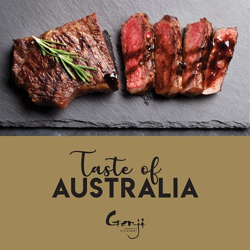 View Genji's Taste of Australia
