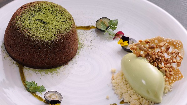 View Matcha Chocolate Fondant
