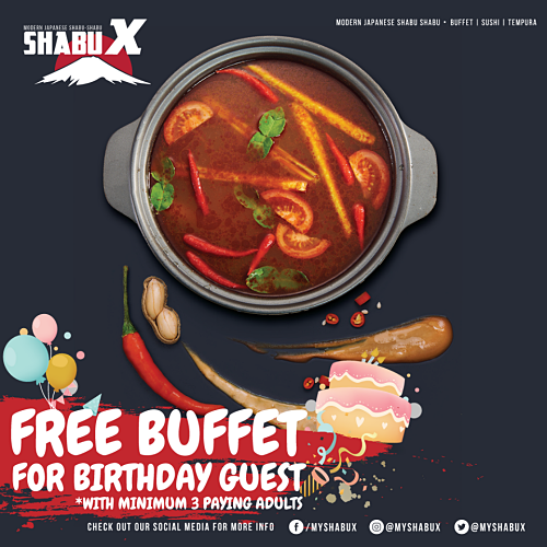 View Free Buffet Birthday Promo