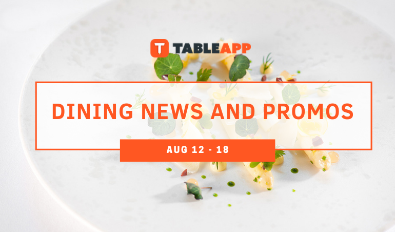 View Dining News and Promos Of The Week!