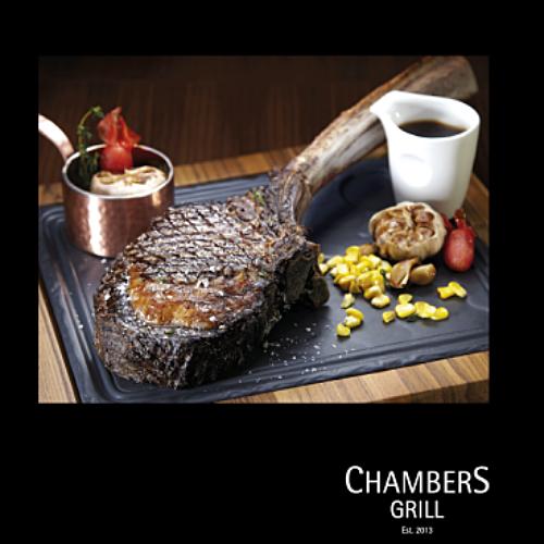 View Wagyu Tomahawk at Chambers Grill @ Hilton Kuala Lumpur