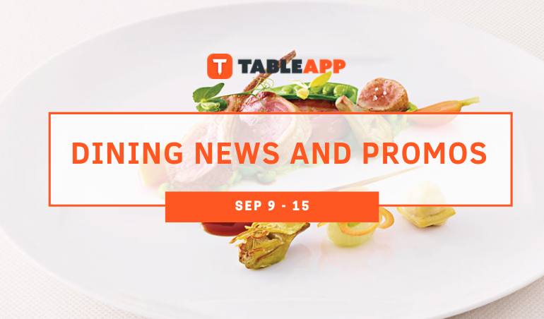 View Dining News and Promos of The Week Here!