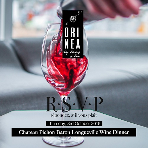 View Wine Dinner at Orinea