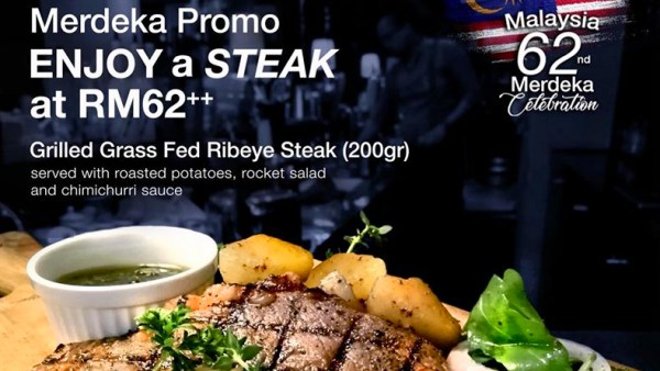 View Malaysia Day Promo at Pampas Steakhouse at Old Malaya