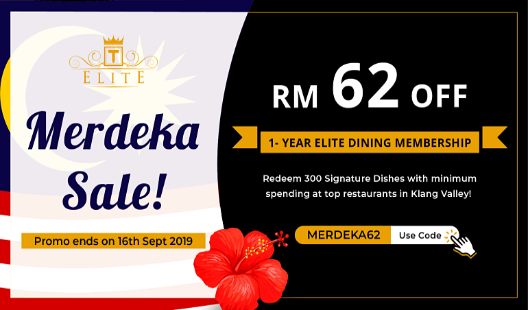 [Limited] Special Offer for 1-Year ELITE Membership This Merdeka 2019!