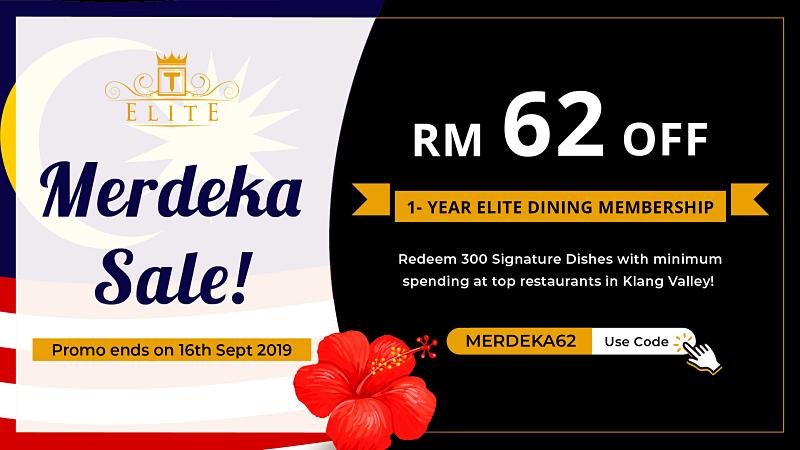 Get RM62 Off Your 1-Year TABLEAPP ELITE Membership!
