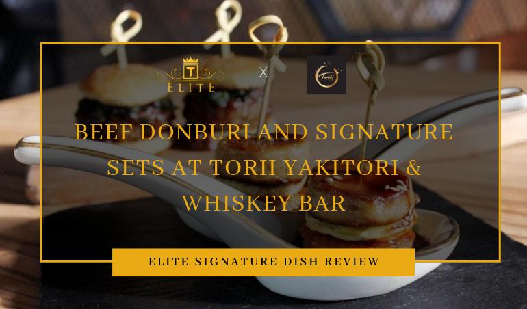 View Food Review and Latest Menu at Torii Yakitori Whiskey Bar